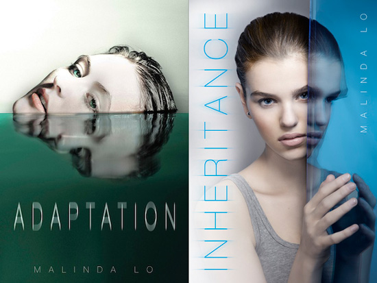 Book covers for Adaptation and Inheritance side by side
