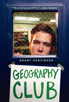 Cover for Geography Club by Brent Hartinger