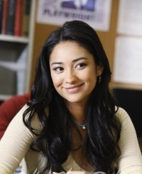 Shay Mitchell as Emily Fields in the ABC Family TV version of Pretty Little Liars
