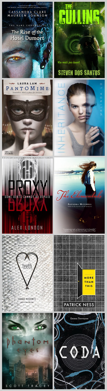 10 LGBT YA science fiction and fantasy novels published in 2013