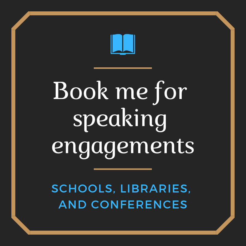 Book me for speaking engagements