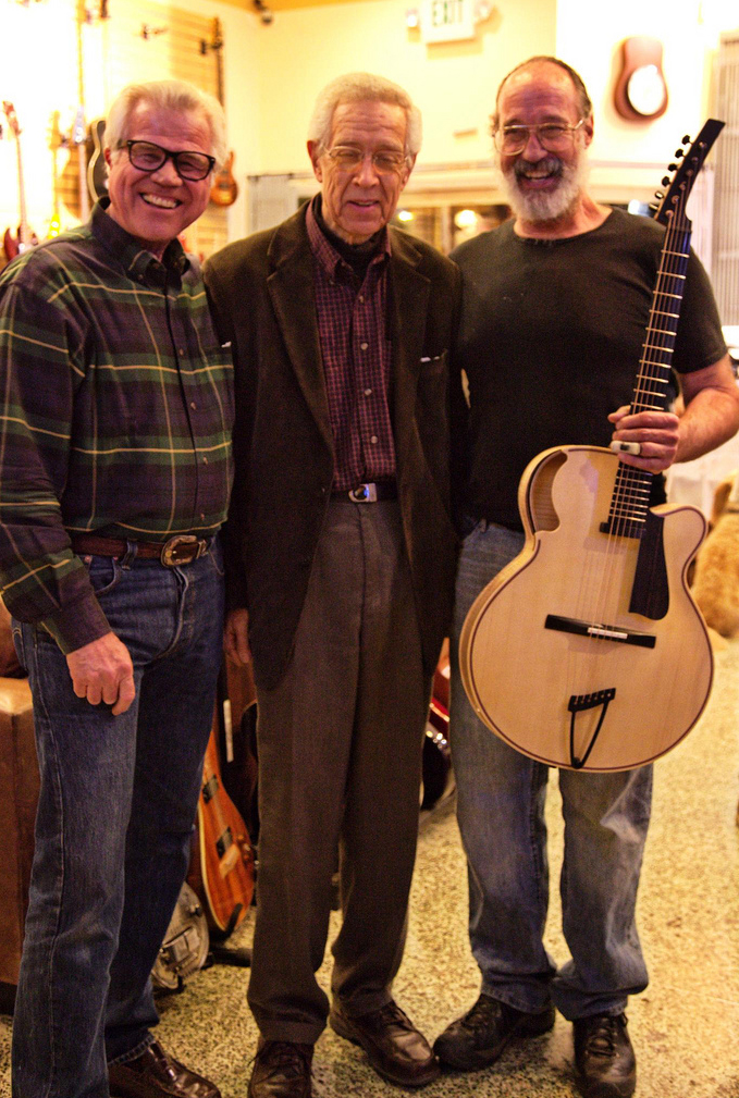 Fred Walecki, Kenny Burrell, and Ken Parker