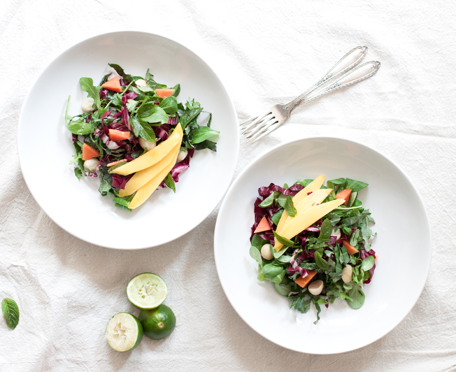 Vegan Kale Salad - The Little Plantation