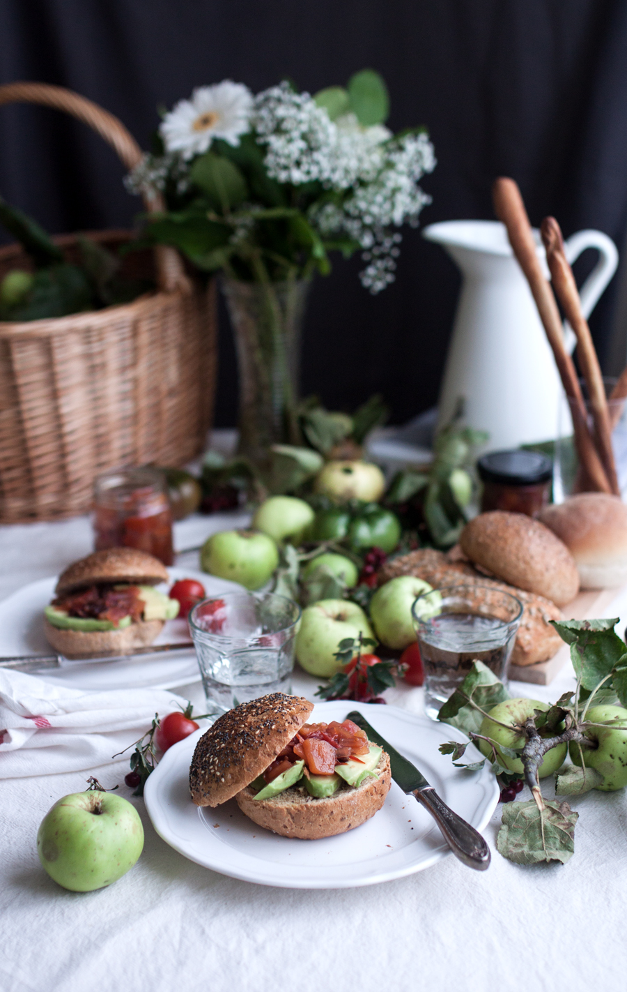 Vegan Apple and Tomato Chutney Recipe - The Little Plantation