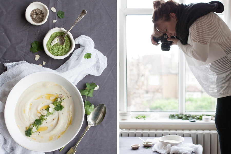 Winter Cauliflower, Parsnip and Garlic Soup recipe - The Little Plantation