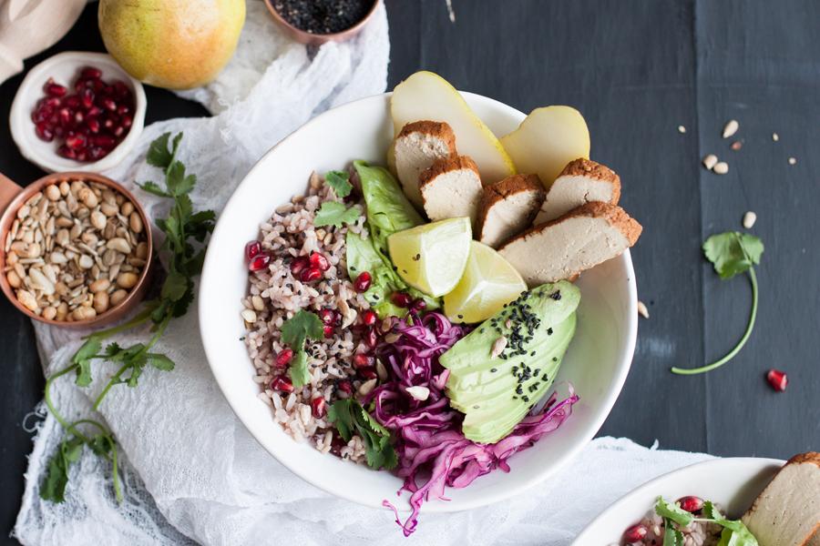 Vegan Bento Bowl recipe - The Little Plantation