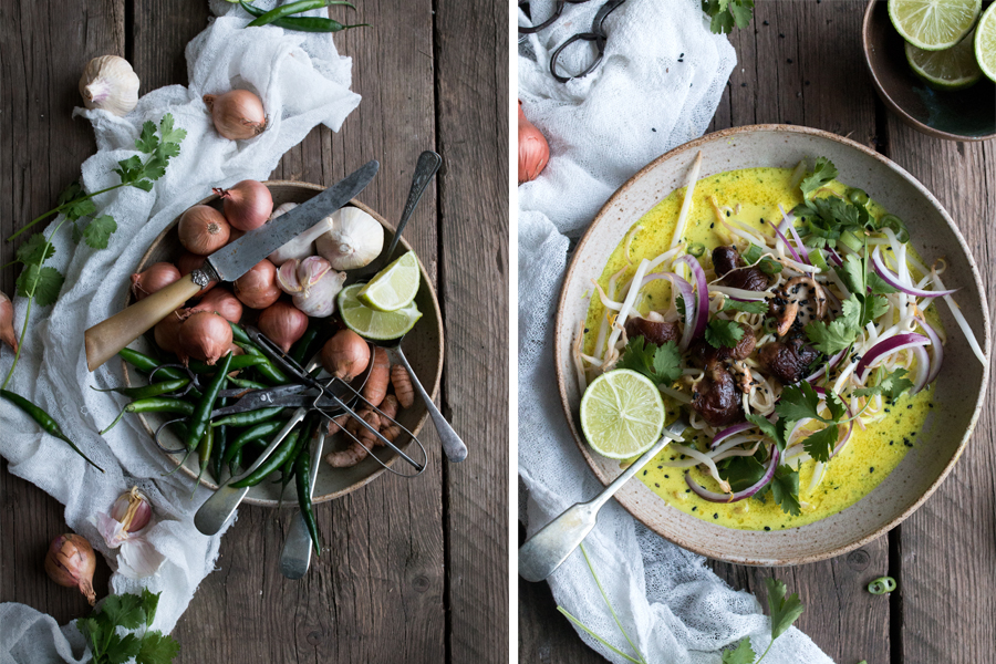 How to make vegan Thai soup - The Little Plantation