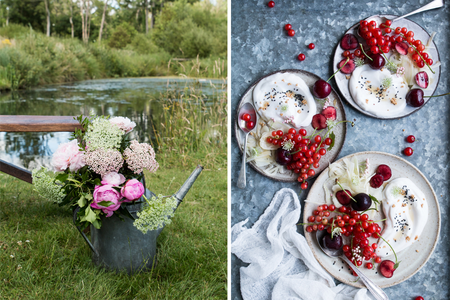 Summer Berry And Fennel Salad Waitrose At Source Garden