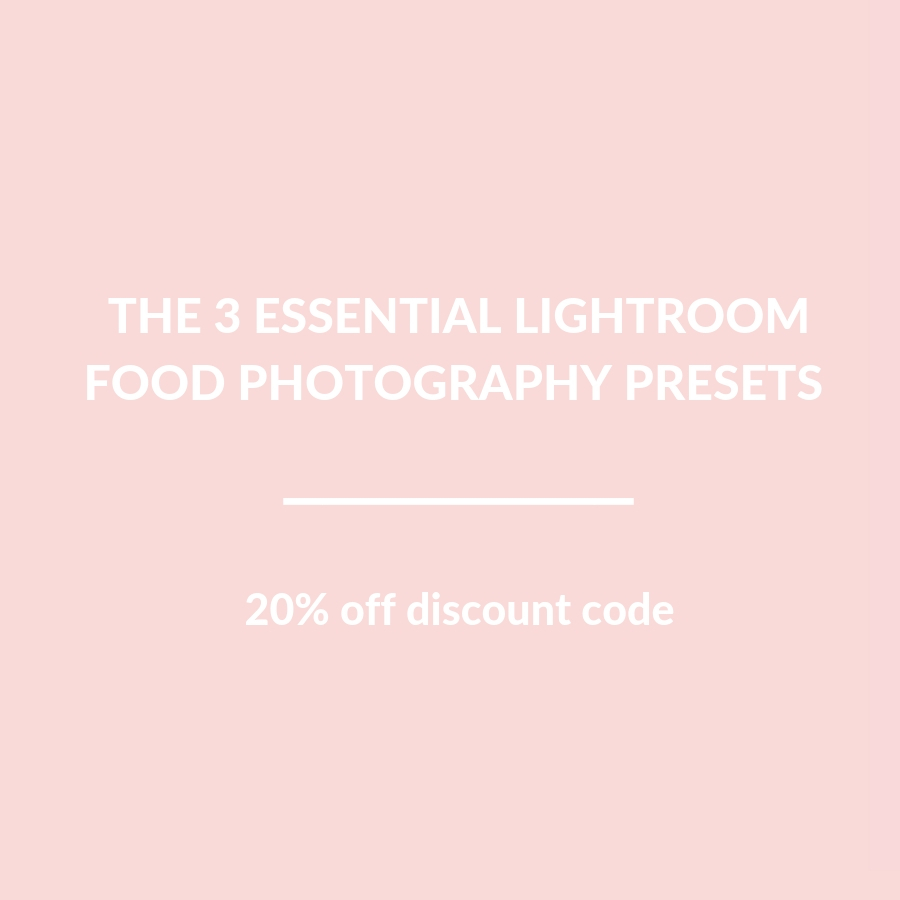 Chopped podcast 20% off - The Little Plantation food photography Lightroom presets
