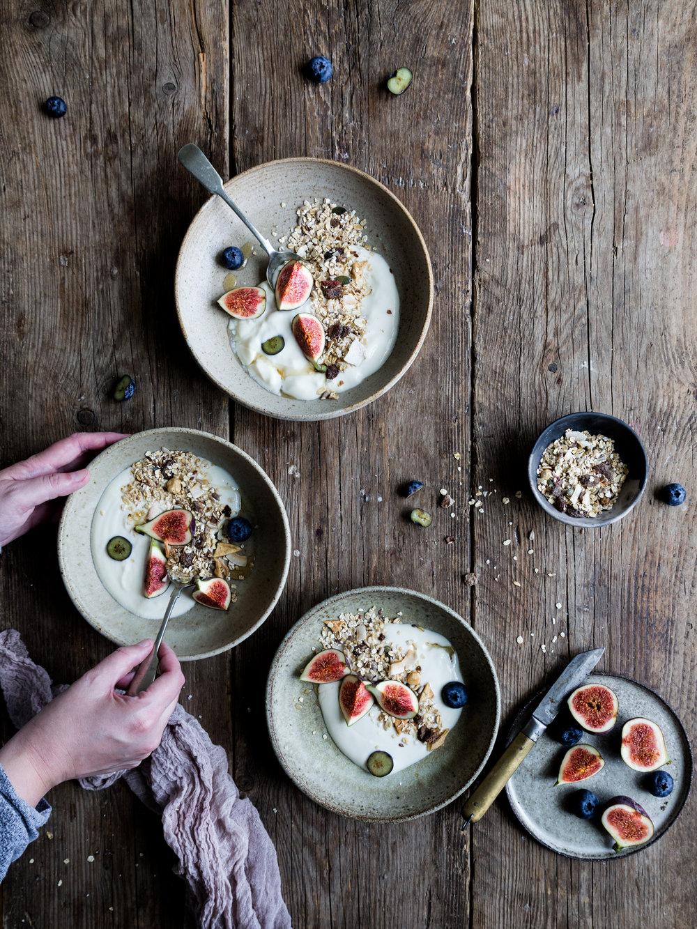 London food photography workshop - with muesli by our sponsor  Dee Muesli