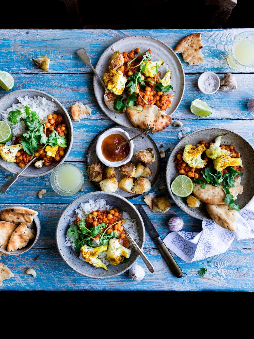 Easy vegan tomato curry recipe - The Little Plantation blog