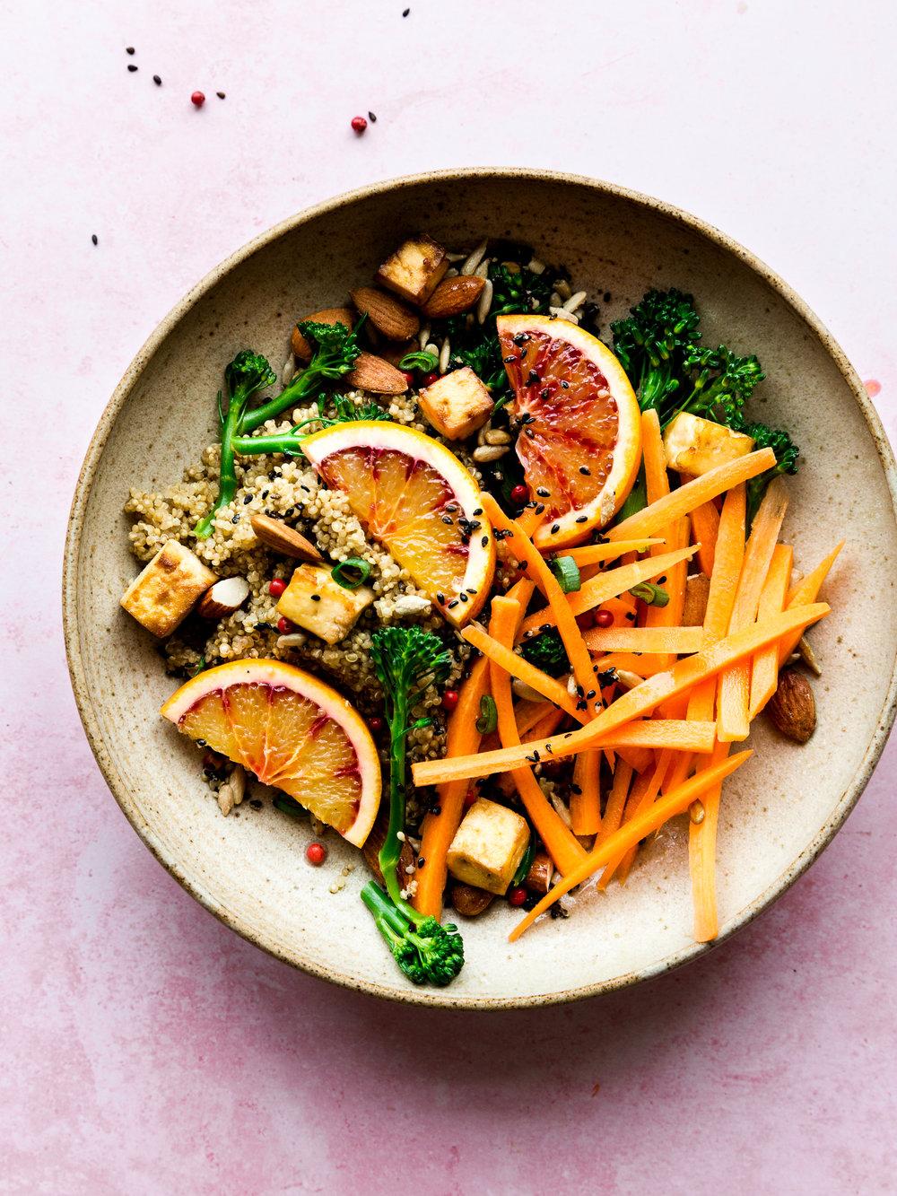 Easy vegan buddha bowl recipe - The Little Plantation blog