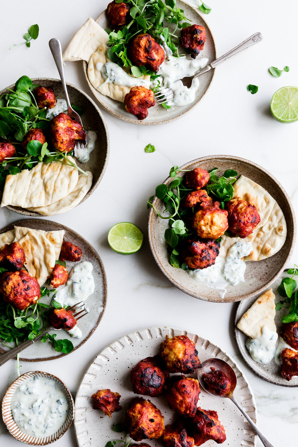 How to make vegan cauliflower wings - The Little Plantation blog