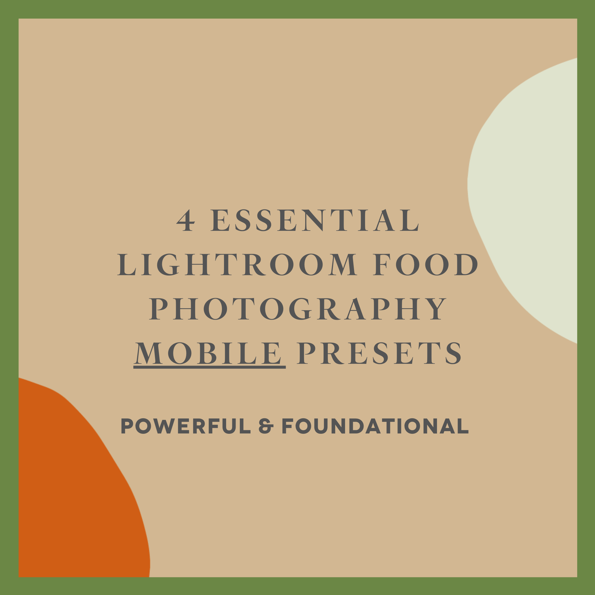 4 FOOD PHOTOGRAPHY LIGHTROOM PRESETS FOR MOBILE — a vegan food photography  and styling blog