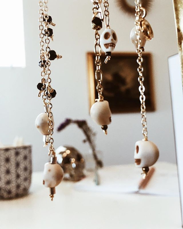 Heads will roll.  Skull bracelets    link in bio 💀💀 #musemejewelry