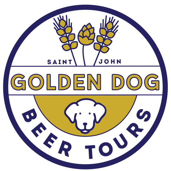 about golden dog -  Located in Saint John, New Brunswick, Golden Dog Beer Tours is an adventure company focused on providing our guests with the real uptown experience.  With the recent boom in the craft beer market, New Brunswick has become a leader in the industry providing varieties of beer for anyone who appreciates a good pint of happiness!  Uptown Saint John is a great area to enjoy all things local with great architecture, amazing food, the friendliest people and most of all a large amount of beer!  Best of all it is located in walking distance!Golden Dog Beer Tours was inspired by the friendliness of the uptown core of the city and of course a golden dog, named Quincy.  Quincy is well known uptown at the dog friendly establishments and has a welcoming personality that draws people to him, much like the people you meet Uptown.