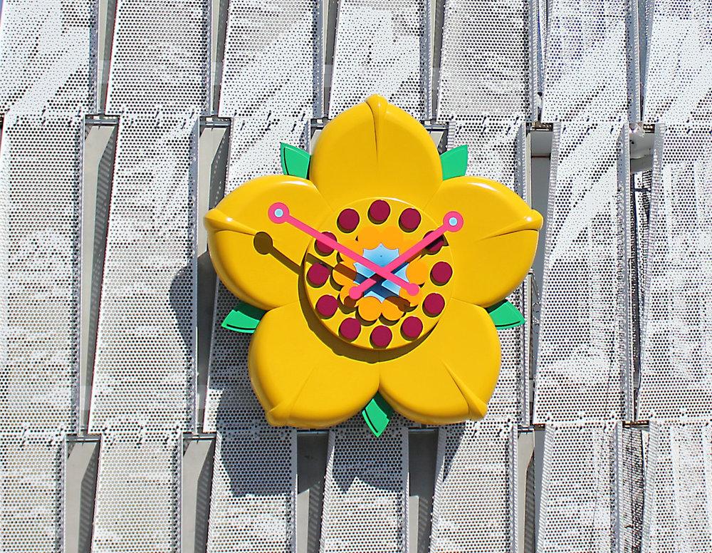 Hoa Mai Clock