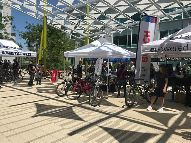Down in Sunnyvale for Google today! • • • #ELVMotors#electricbicycles#electricbikes#foldablebike#electricscooters#escooters#electronicskateboards#eskateboards#siliconvalley#BESV#BHemotion#Biomega#Bullsebikes#Ejoebikes#Emazing#Eprodigy#Haibike#Kalkhoff#Magnumbikes#Pedego#Stromer#Tempo#VeloMini#Velec#Shimano#FreeParable#DOM#google#googleevent#sunnyvale