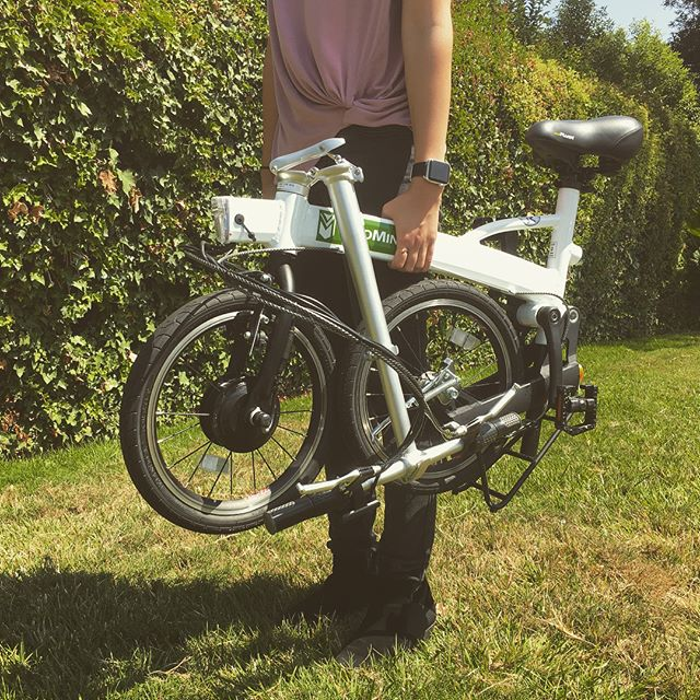 Want a super portable e-bike for a few days? We've added the Velomini Plus bikes to our e-Bike Rental Fleet! They're even lighter than some e-scooters and can be just as easily carried or placed in a car. Check our details here: bit.ly/2o5citB or at elvmotors.com #elvmotors #ebike #electricbike #bikerentals #foldablebike