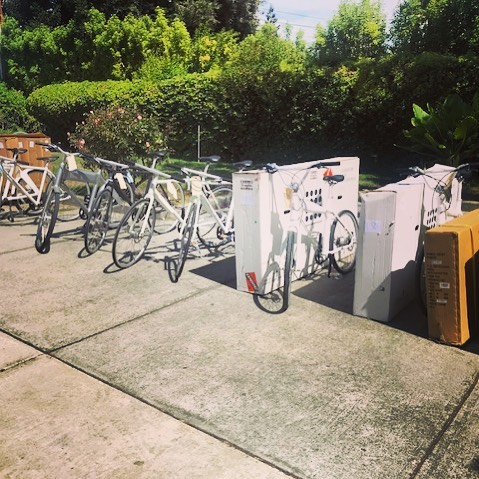 A big thank you to Det. Cogliandro with the Santa Clara County Sheriff's Office for the massive recovery of our e-bikes - stolen a year ago from our Extra Space Storage unit. We appreciate the diligence shown over the past year in returning our property to us. If you're interested in hearing the story, it'll be shown on NBC Bay Area tonight at 5pm PST! #ebikenews #santaclarasheriff #ebike #electricbike