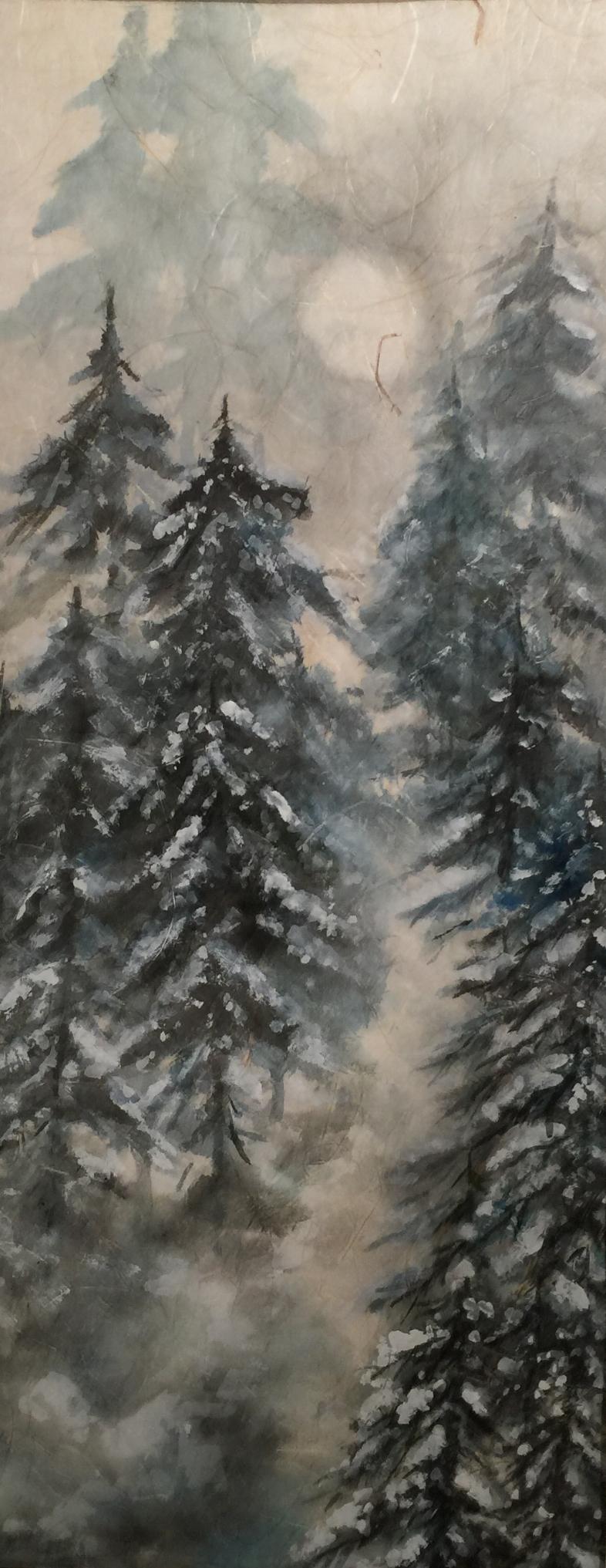 Pines & Moon