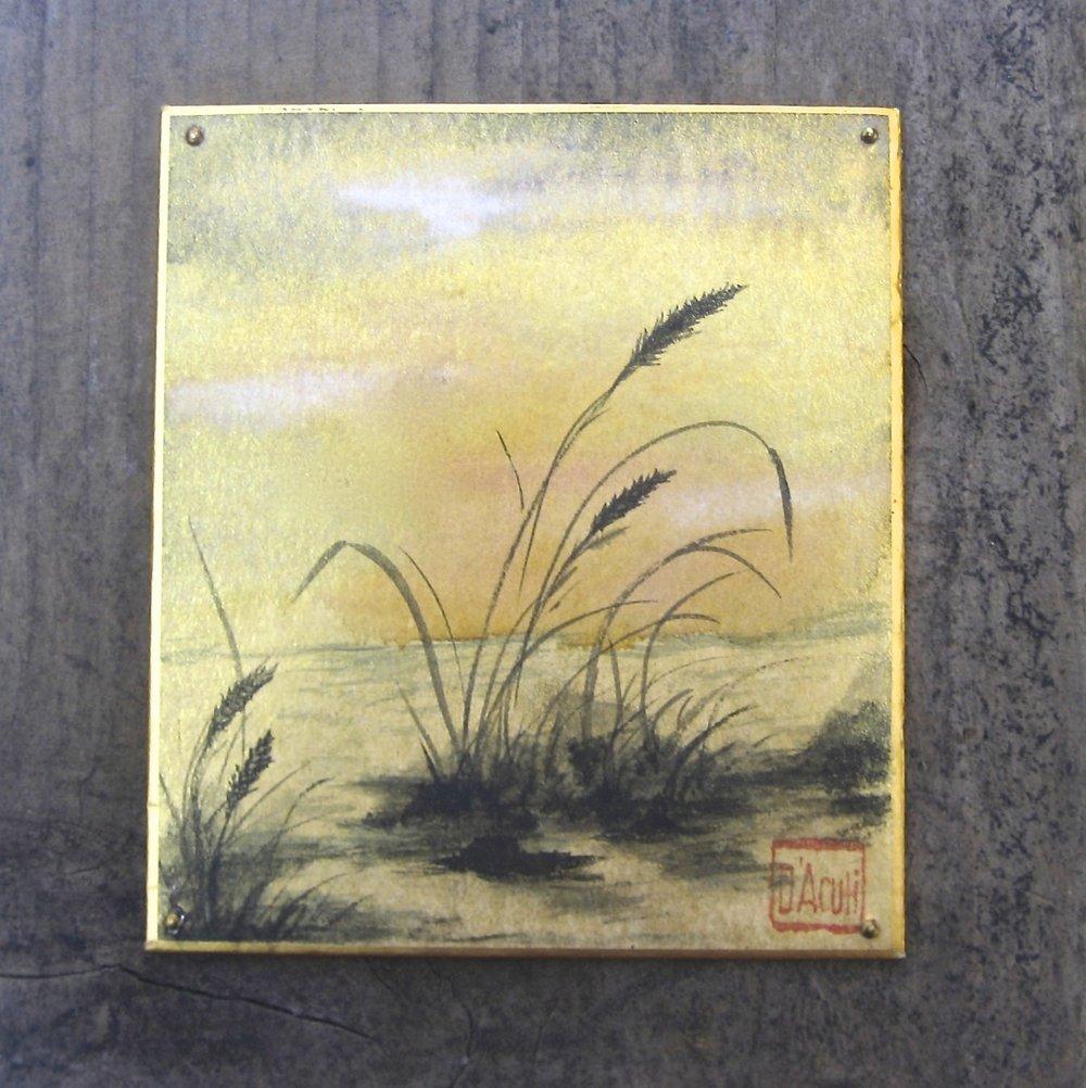 Grass on Gold