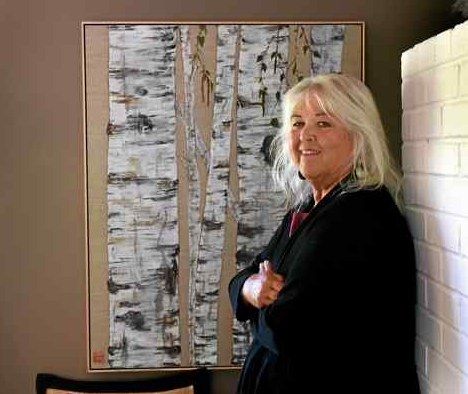 Mill Valley woman forges careers in art, music - Marin IJ article from 2017