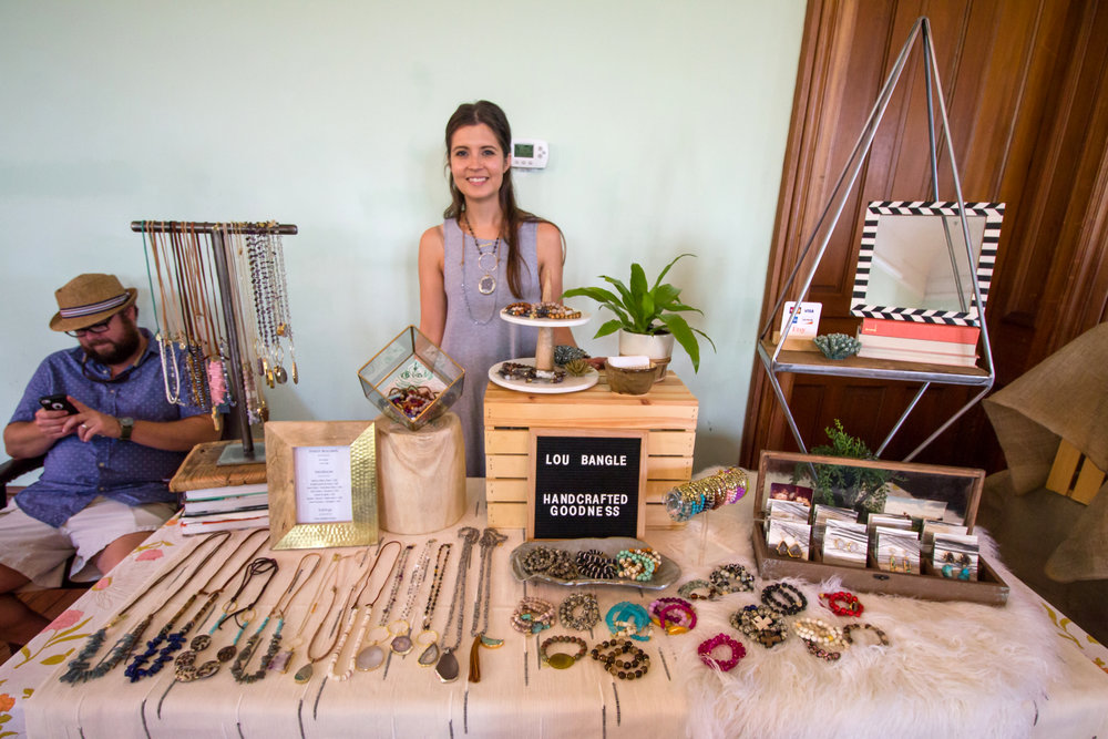 Melissa Livingston representing   Lou Bangle   :: Handcrafted goodness with Carolina roots.