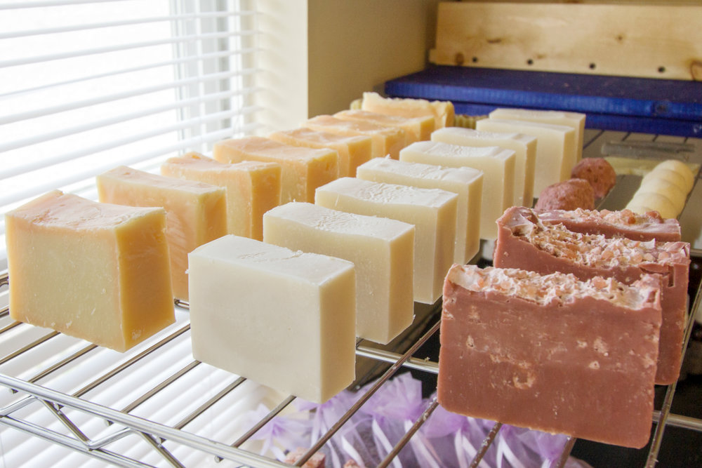 Her bars of soap are perfectly crafted and worth every penny!