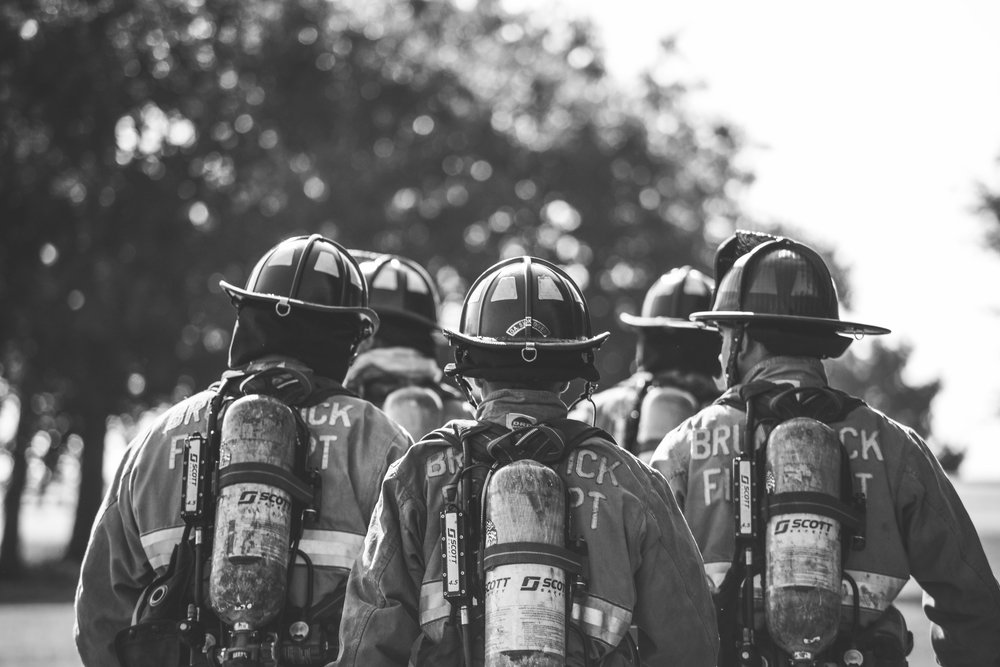 Brunswick Fire Department Firefighters