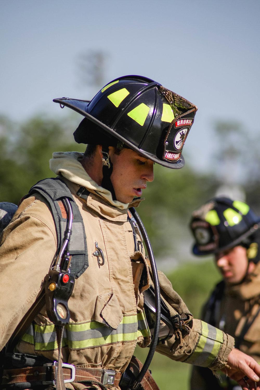 Brunswick Fire Department Downtown Brunswick Fireman Training PT