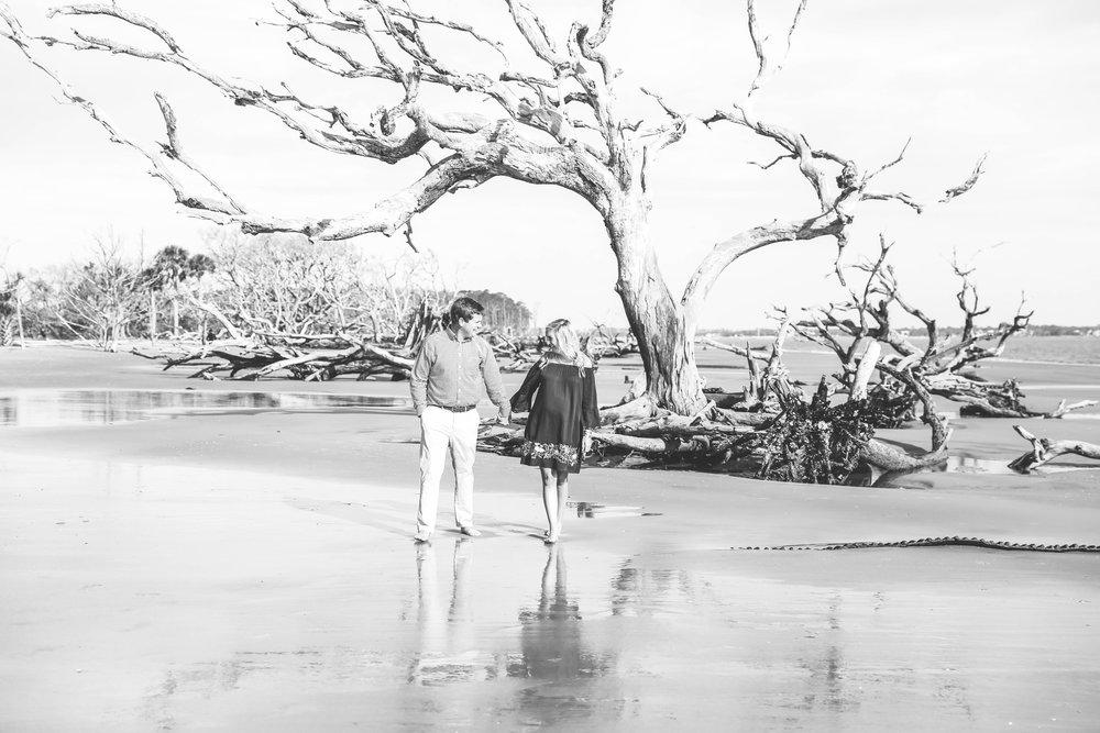 Maternity Session on Driftwood Beach, Jekyll Island, GA