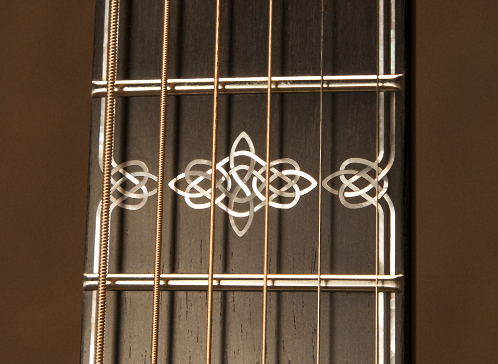 Copy of Custom Celtic Knot Fretboard Inlay