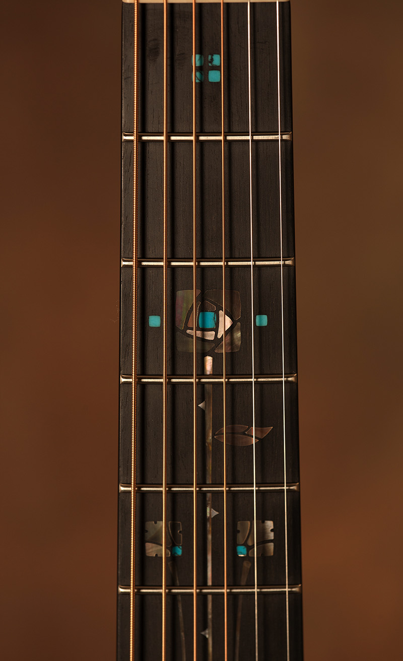 """Pueblo Rose"" Fretboard Inlay"