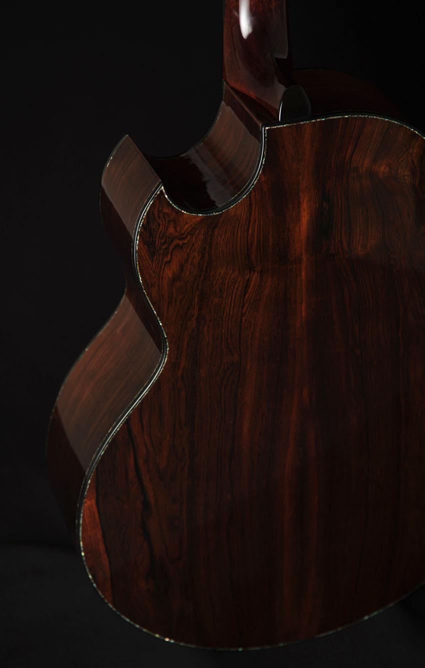 Copy of Brazilian Rosewood Closeup