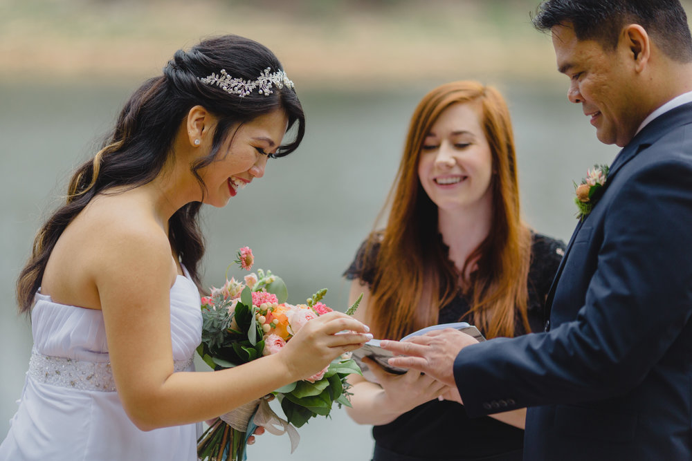 Elopement Officiating - Make it official!