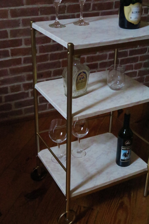 DIY IKEA Bar Cart