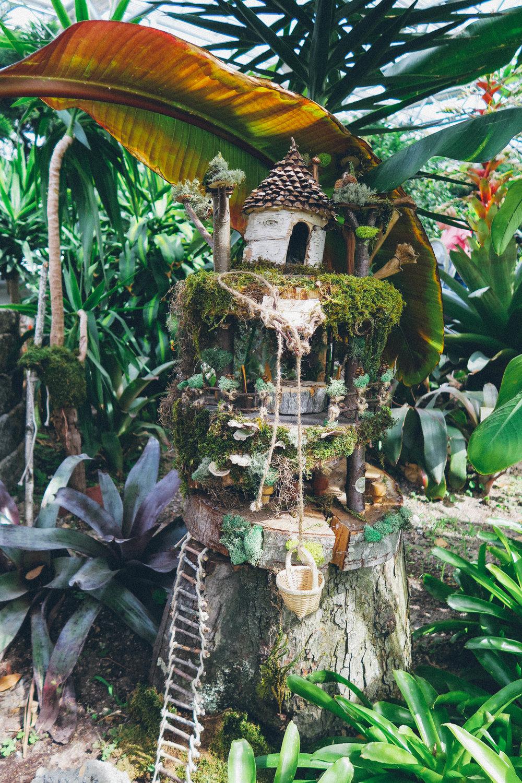 Fairies in the Botanical Gardens | affecionada