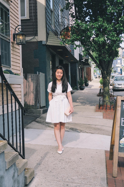 White Shirtdress | affecionada
