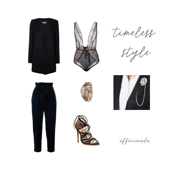 Timeless Style via Aquazzura x Farfetch | affecionada