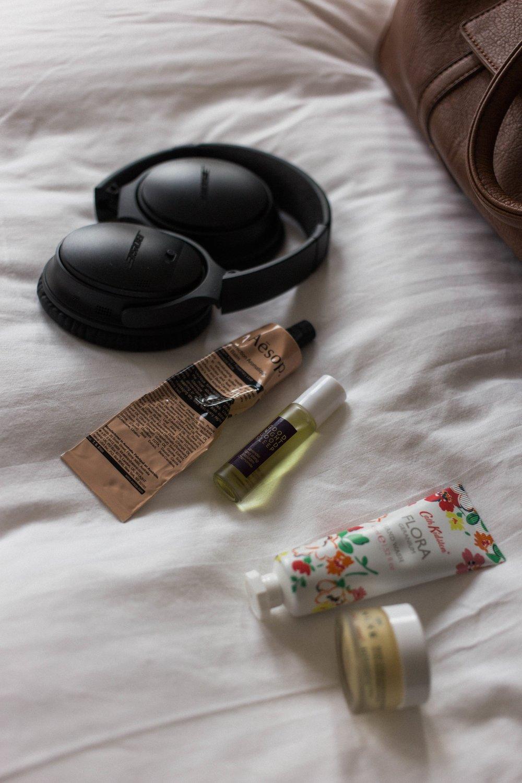 affecionada, carry-on essentials for the anxious flyer