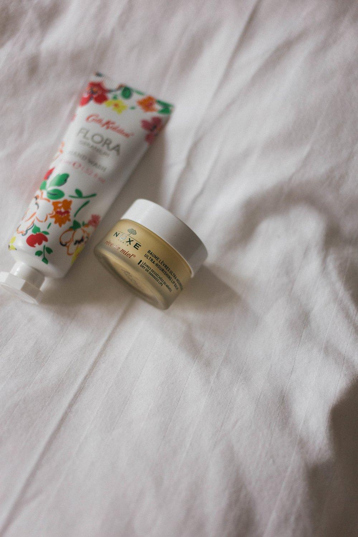 affecionada, carry-on essentials for the anxious flyer, Nuxe Reve de Miel