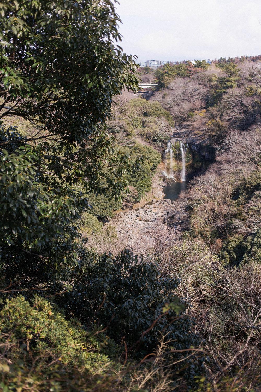 affecionada, Jeju Island, photo travel diary, Cheonjeyeon Falls
