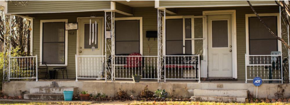 The Dietrich Bonhoeffer House, Dallas, Texas.
