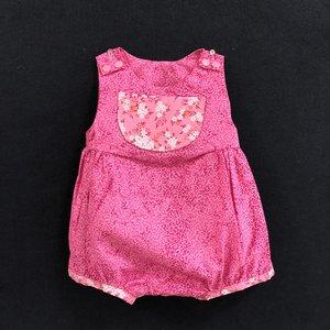 0f65e8d12356 Baby Bubble Romper Pink Print. 30.00.  18C4428C-B4CC-478A-9103-23D7A9A6D36F.jpeg