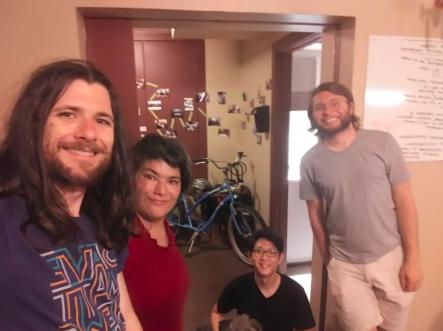 Photo Credit: Glenna Gillilan Left to right: Josh, me, Sungmoon, and Ryan