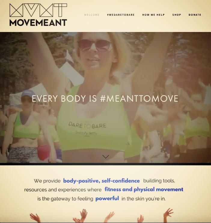 WEBSITE COPY,  MOVEMEANT FOUNDATION                 read full site