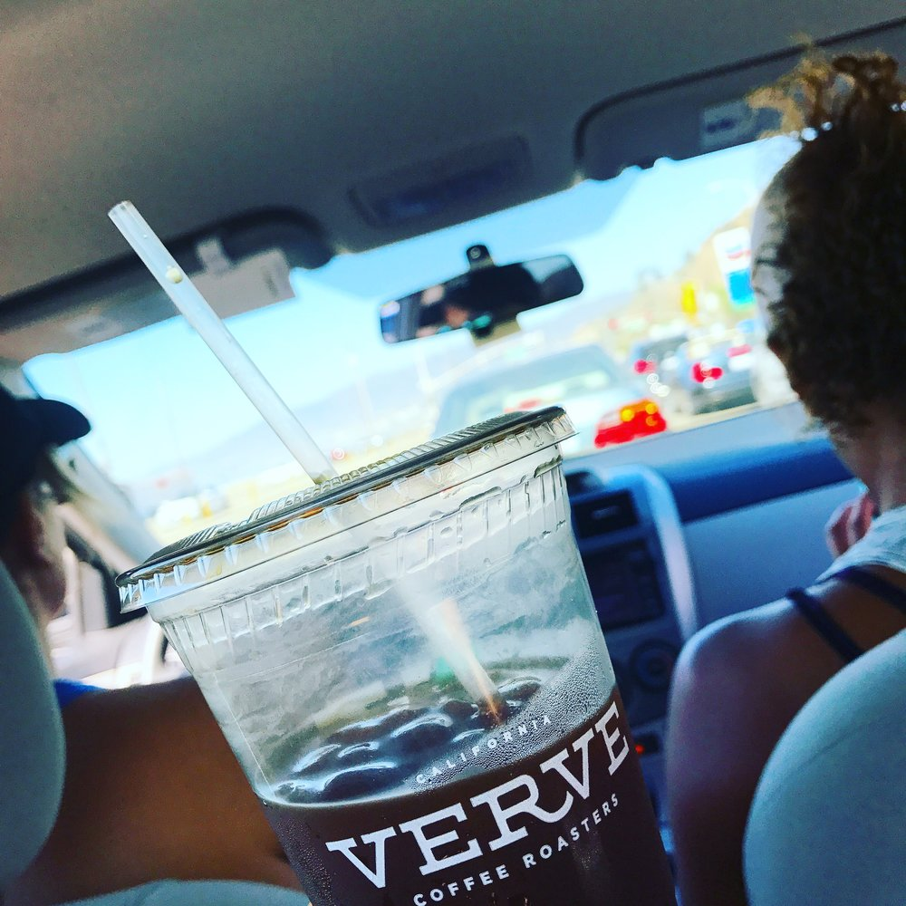 iced americano from verve; give me life.