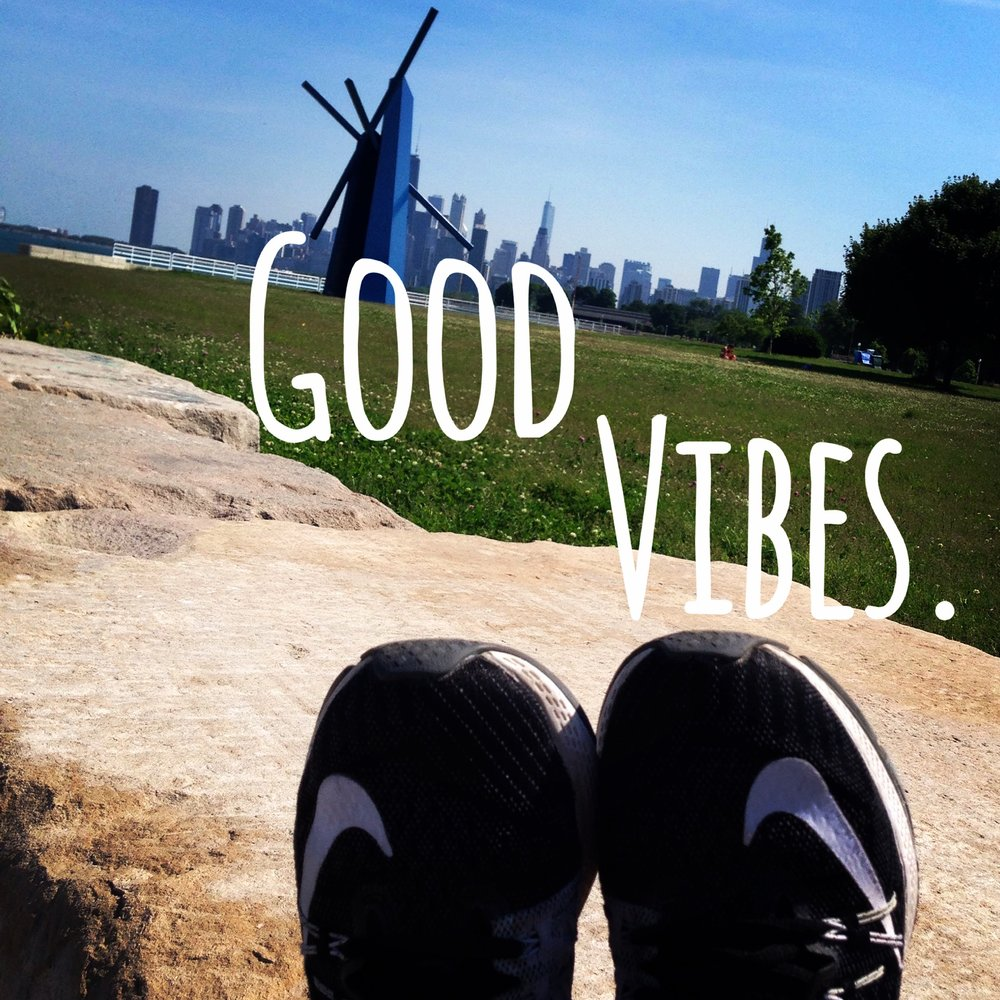 Round 1 ... I spent my weekends basking in the good vibes on the Lakeshore Trail...