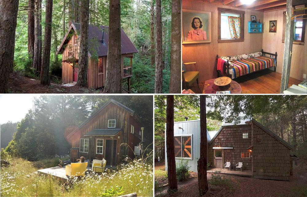 Perfect Mendocino Cabins
